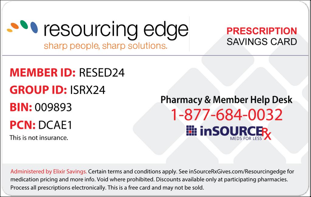 InsourceRX Discount Card